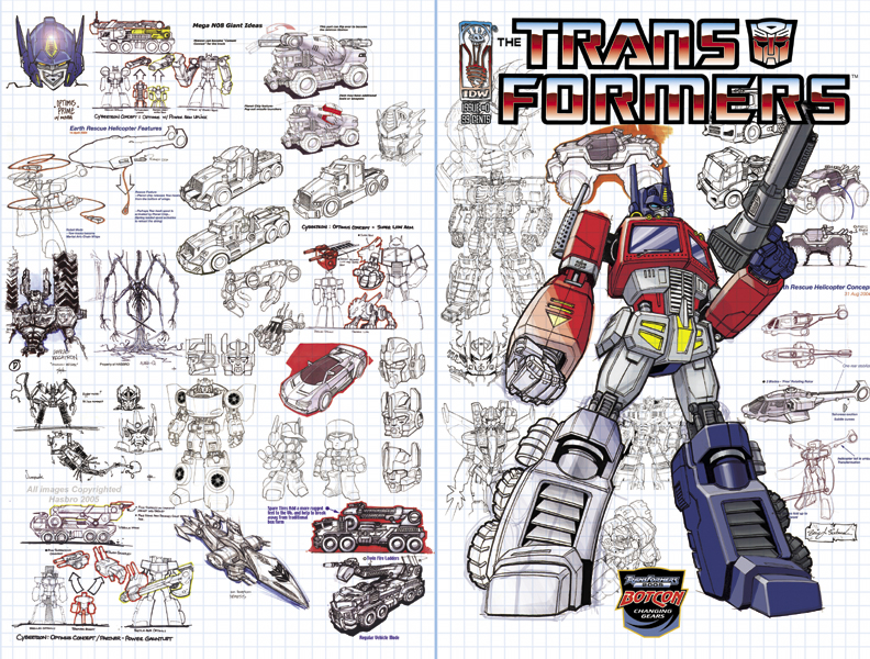 Offer Up San Diego >> Hasbro Designers Offer Up Exclusive Transformers #0 Cover