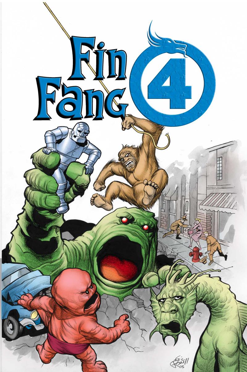 fin fang four
