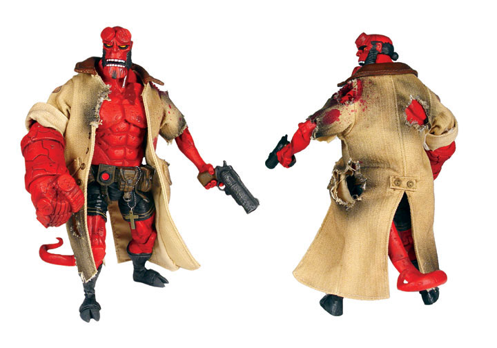 Figures Com Hellboy After The Battle Exclusive Now Shipping