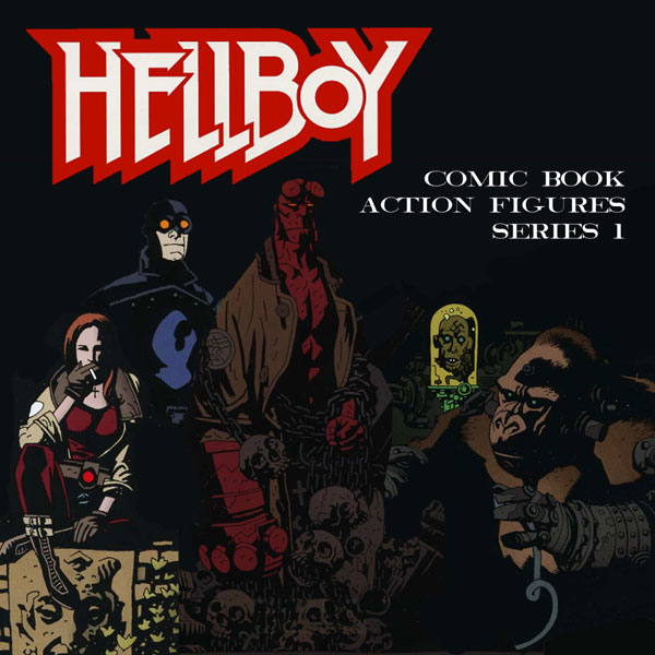 Hellboy Comic Book Series From Mezco