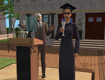 Los Sims™ 2: Universitarios Pressrelease_1