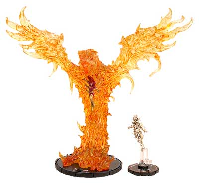 The marvel heroclix dark phoenix figure will be available for purchase