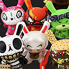 Dunny Series 4  Figures and Trading Parties