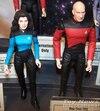 Star Trek: Next Generation Picard, Troi & Locutus
