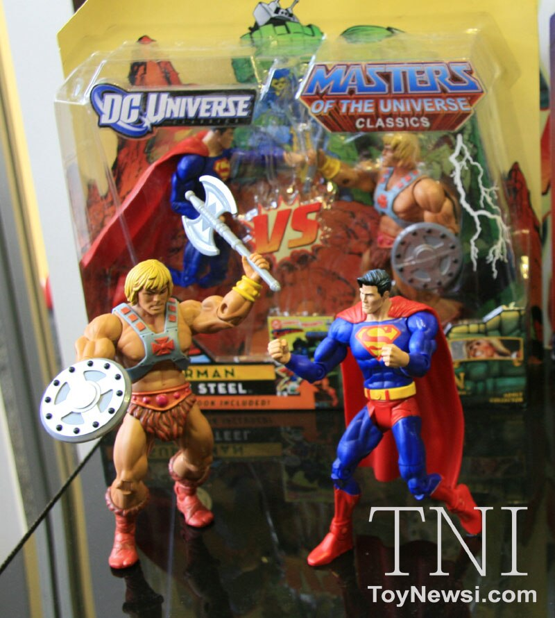 Dc Vs Motu 2 Packs He Man Vs Superman And Skeletor Vs Lex Luthor