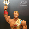 2012 NYCC - Mattel MOTUC Grayskull Blue Prints, Clamp Champ & New Adventures He-Man (Updated With More Booth Images)