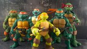 2012 Toy Fair: Playmates Teenage Mutant Ninja Turtles 2012 Michelangelo Figure Review