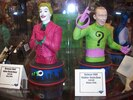 2014 C2E2: Batman 1966 TV Series Busts: Batman, Robin, Joker & Riddler