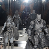 2015 NYCC: Play-Arts Kai Batman v. Superman: Dawn of Justice Figures