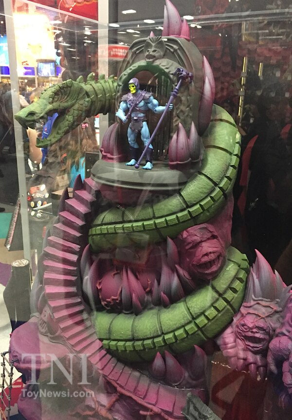 2015 Sdcc Mattel Motuc Booth Images Snake Mountain