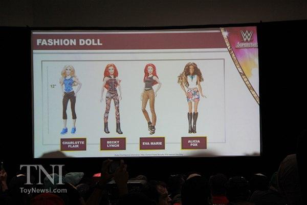 Sdcc17 Mattel Wwe Figures Action Figures Toys News