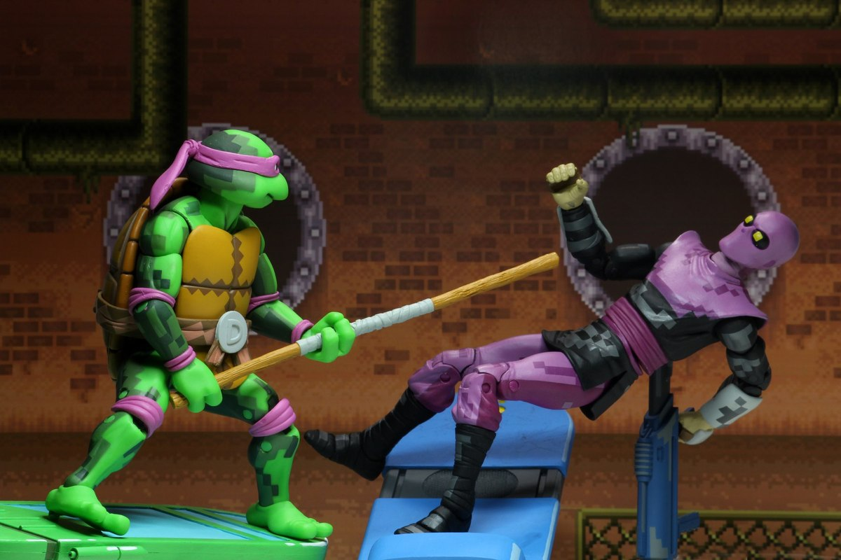New Arcade Game-based TMNT Figures Images