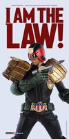 1/6 Scale Judge Dredd Figure Images From 3A