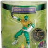"""2013 SDCC Exclusive Power Rangers Limited Edition 4"""" Green Dragon Ranger Figure"""