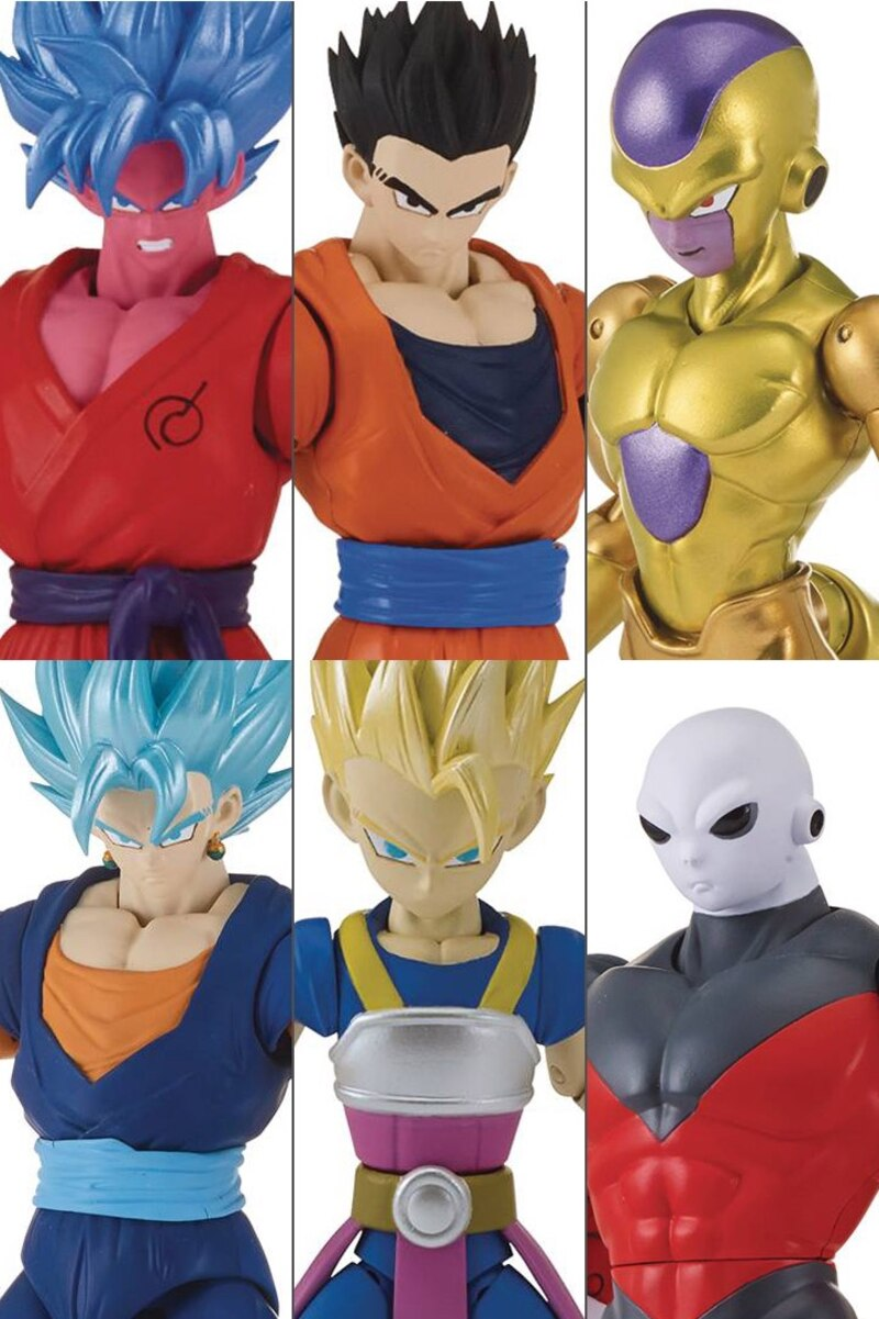 6 5 Dragon Ball Super Dragon Stars Waves G H Kale Build A Figure