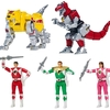 Mighty Morphin Power Rangers Legacy Zords & Head Morph Figures From Bandai America