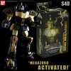 2016 Power Morphicon Exclusive Black & Gold Legacy Collection Dino Megazord