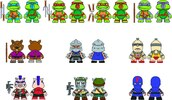 TMNT Blind Bag Mini Figures