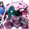 Overwatch D.Va With MEKA Statue From Blizzard Entertainment