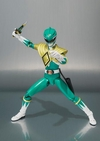 New Images & Release Date For S.H. Figuarts Green Power Ranger Figure