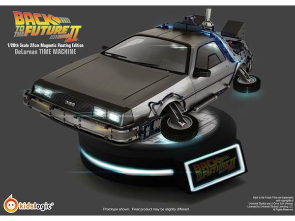 Kids Logic Quot Back To The Future Quot Floating Delorean