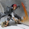 One Piece FiguartsZERO Red haired Shanks Battle Version