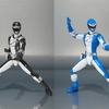 Power Rangers Operation Overdrive Double pack (Blue and Black)