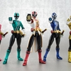 2013 SDCC Exclusive S.H. Figuarts Power Rangers Super Samurai Metallic Coating Deluxe Action Figure Set