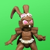 Special Edition Holiday Chocolate Bunny 4