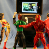 Caption The Pic: JLA Tower - The Day The Green Lantern  Movie Costume Was Revealed