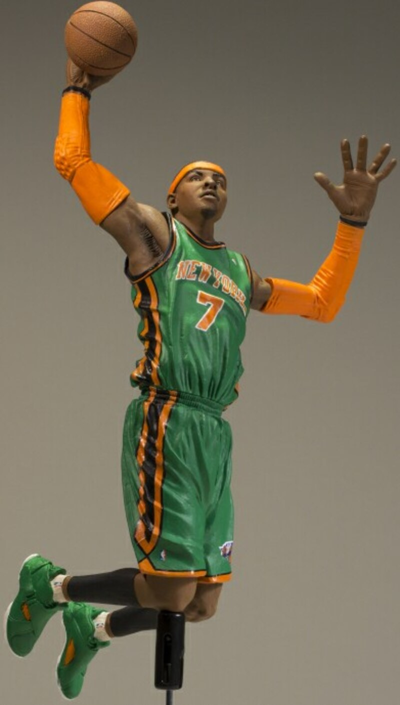 newest c1e92 c3d0b McFarlane Toys Exclusive Carmelo Anthony In The New York ...