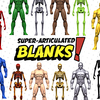 Last Day for the 1:12 Super Articulated Blanks Kickstarter Campaign