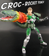 Croc Armor Steve Irwin vs Death Ray By Jin Saotome