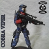 G.I.Joe Cobra Viper Infantry Trooper Custom Figure By TrooperBRCustoms