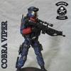 G.I.Joe Cobra Viper Infantry Trooper Custom Figure By TrooperBRCustoms