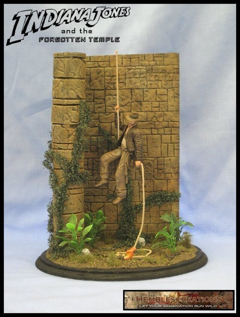 375 Indiana Jones And The Forgotten Temple By Hemblecreations