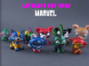 Marvel Littlest Pet Shop Figures By
