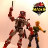 M.A.S.K. Custom Matt Trakker and Gloria Baker Figures By Dsng