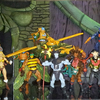 Masters of the Universe Classics Castle Grayskull Figure Backdrop By JoeRhyno
