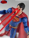 Superman Man of Steel Movie Masters Repaint w/ Heat Vision Blast By MintCondition