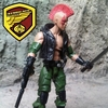 G.I. Joe Ninja Force Zartan Custom Figure By Icecreamman