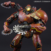 Pacific Rim Super Articulated Crimson Typhoon With Light Up Eye & Saw Hands