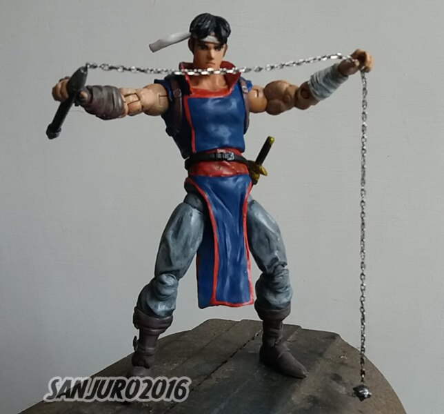 6 Quot Castlevania Richter Belmont Custom Figure By Sanjuro04