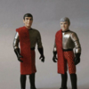 Star Trek Romulan Commander and Centurion Custom Figures By Daysleeper