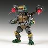 Teenage Mutant Ninja Turtles Custom Metalhead Figure By Daniel Listwan Art