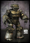 Metalhead Repaint of the 2012 Nickelodeon TMNT Figure By GDX