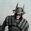 DC Direct Style Batman Custom Figure From The Batman Who Laughs By Panjikusumo