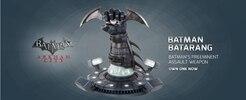 Batman: Arkham City and Arkham Asylum Prop Replicas