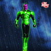 DCD Emerald Knights Sinestro & DCUO Joker & Quinn Statues
