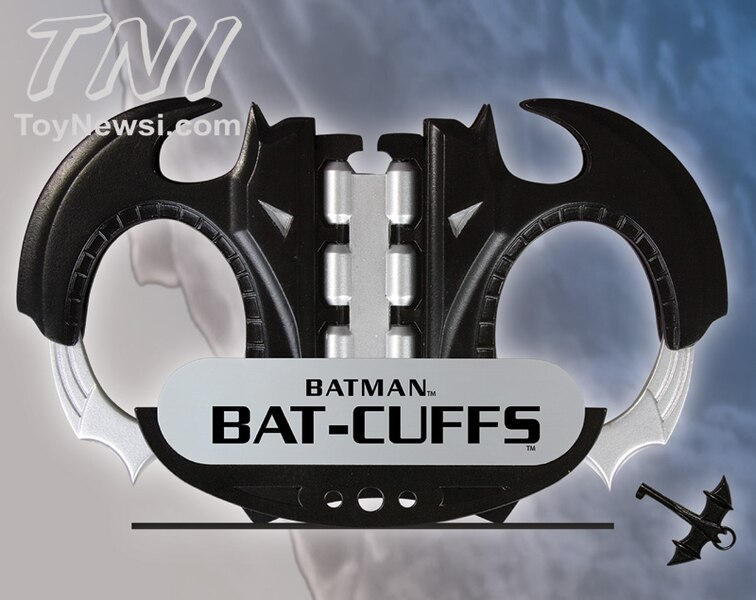 JLA Trophy Room: Bat-Cuffs Prop Replica BatCuffs__scaled_600